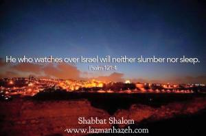 He who watches over Israel