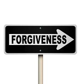 forgiveness - road sign