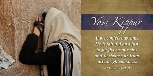 Yom Kippur -- prayer at the Kotel