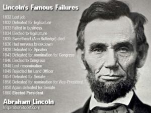 Lincolm Famous Failures