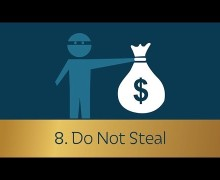 Commandment 8: Do Not Steal – Dennis Prager