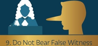 Commandment 9: Do Not Bear False Witness – Dennis Prager