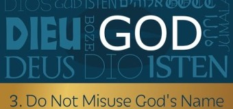 Commandment 3: Do Not Misuse God's Name – Dennis Prager