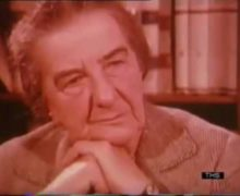 Former Israeli Prime Minister Golda Meir discussed Palestinian Identity (1970 interview has relevance to today!!)