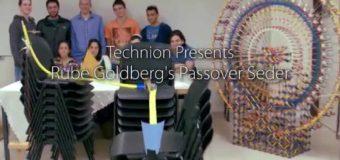 Technion – Pesach Rube Goldberg Machine