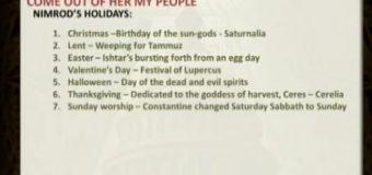 JESUS's REAL BIRTHDAY