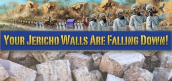 Week 3 of our Walls of Jericho fast … though the battle rages …